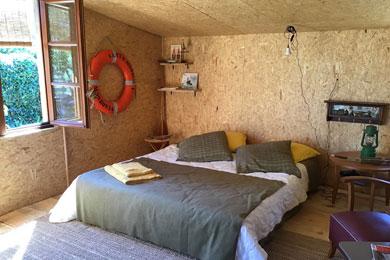 Hébergement insolite : La Cabane Salée de Monica